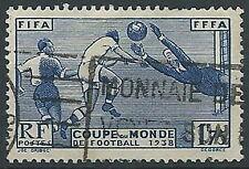 1938 FRANCIA USATO MONDIALI DI CALCIO - EDF146
