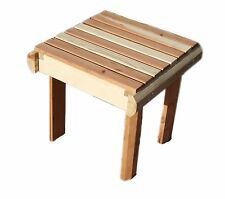 Best Redwood Beach Side Table