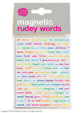 Brainbox Candy Magnetic Rudey words funny rude offensive joke novelty humour
