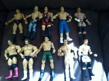 WWF WWE wrestling figure lot Of 10 John Cena Edge RVD Triple H Shamus Batista ++