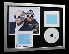 PET SHOP BOYS+SIGNED+FRAMED+ELECTRIC+MIND+SIN=100% AUTHENTIC+EXPRESS GLOBAL SHIP