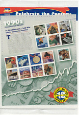 USA 2000 Century/1990s/Titanic/Cars/Dinosaur/Helicopters/Eagle/Space sht (b9667)