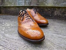 CHEANEY / CHURCH BROGUE – BROWN / TAN  - UK 7.5 –  EXCELLENT CONDITION