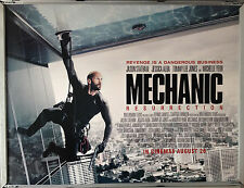 Cinema Poster: MECHANIC RESURRECTION  2016 (Quad) Jason Statham Jessica Alba