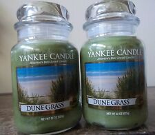 Lot of 2 Yankee Candle NEW ~ Dune Grass~  Housewarmer  22 oz. Candles  Free Ship