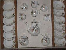 Coffret dînette porcelaine ancienne