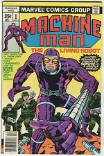"Machine Man #01 - ""The Adventures Of The Robot With A Soul!"" - (Grade 6.0)WH"