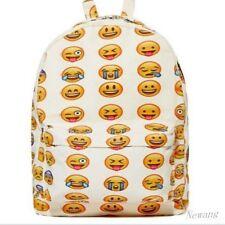Smiley Fangirl Emoji Rucksack Day Pack Schule Umhängetasche Jungen Mädchen