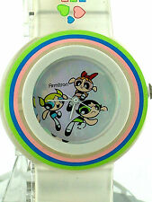 ARMITRON POWERPUFF GIRLS See thru Clear Strap Round Dial 2500/02