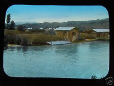 GLASS MAGIC LANTERN SLIDE UNKNOWN LOCATION 29 C1920 POSSIBLY CHINA OR KOREA