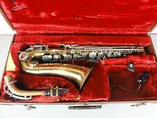 VTG Selmer Bundy Saxophone Needs Work Alto USA Sax For Restoration