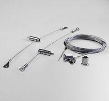 Stahlseilhalterung Aufhängung 1,5 mm 6,5mm Ösen Beleuchtung Edelstahl Seilsystem