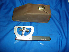 pico 282 vintage surveying equipment in belt strapped container