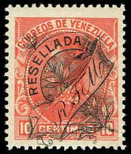 Scott # 151 - 1900 - ' Simon Bolivar ', Stamp of 1899 Ovpt in Black