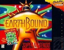 "EarthBound (SNES, 1995) Fully Authentic C.I.B. ""For Display Only"" Small Box copy"