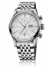 Oris Mens Artelier Chronograph Watch Automatic (0177476864051-0712373FC)