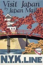 Japan Nyk Line Poster 24in x36in