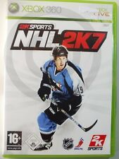 XBOX 360 GAME NHL 2K7, used but GOOD
