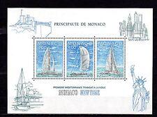 Monaco 1985 Transport Saing Ships Yachts MNH