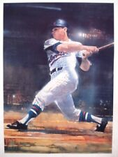 Washington Senators Harmon Killebrew Sport Lithograph