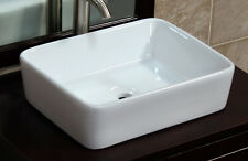 Bathroom  Ceramic Porcelain  Vessel Vanity Sink Pop Up Drain 7050