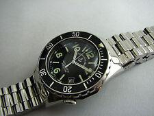ZENO  Retro Diver  Ref. 485 mit schwarzer Lünette