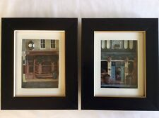 Pair of Framed 3D Pictures