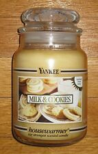 Yankee Candle - MILK & COOKIES - 22 oz - Black Band - RARE AND HARD TO FIND!!