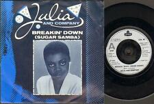 "JULIA AND COMPANY Breakin Down  7"" Ps, B/W Breakin Down Part 2, Lon 46 (Vg/Vg, V"