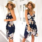 Sexy Women Summer Casual Sleeveless Evening Party Cocktail Short Mini Dress New