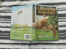 MICHAEL BRANDER SIGNED COPY FIRST EDITION 1993 A SHOOTING ANTHOLOGY