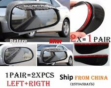 1Pair 2x Car Mirror Rain Snow Protector Guard Cover Deflector Miroir Protecteur