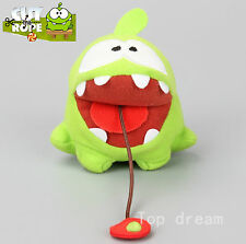 Cut The Rope Candy Monster Om Nom Plush Toy Soft Doll 10cm Mini Figure Gift