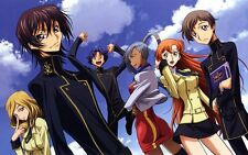 POSTER CODE GEASS LELOUCH OF REBELLION RURUSCIU NUNNALLY SUZAKU ANIME MANGA #10
