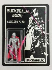 SUCKADELIC SUCKREALM 6000 SILVER SUCKLORD 72 ACTION FIGURE