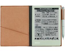 New Sharp Electronic Memo Pad Handwriting Notebook WG-S30-T Brown With Tracking
