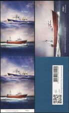 Iceland 2014 Trawlers/Ships/Boats/Nautical/Fishing/Transport 4v s/a bklt  is1027