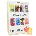 NEW BOXED FUJIFILM INSTAX MINI FILM 1 PACK (10PCS ) / DISNEY PIXAR 4 8  50S SP-1