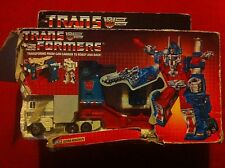 TRANSFORMERS GENERATION 1, G1 AUTOBOT FIGURE ULTRA MAGNUS 100% COMPLETE IN BOX