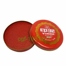 Calligraphy Red Ink Paste Chinese Yinni Pad 36g