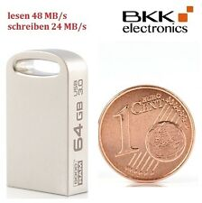 64 GB Nano 3.0 USB Stick Point silber GoodRam flash drive klein PD64GH3GRPOSR10