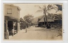 Picture postcard of untitled street scene believed to be in Phillipines (C16761)