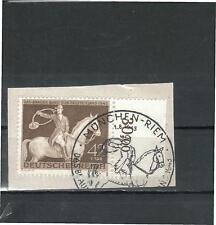 SONDERSTEMPEL Deutsches Reich Rand SR Briefstück Vollstempel MÜNCHEN MiNr. 854