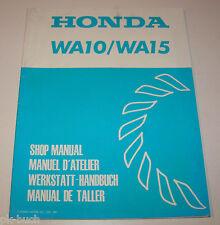 Werkstatthandbuch Honda Wasserpumpe WA 10 und WA 15 - Stand 1981!