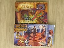 Lot of 2 Harry Potter Board Games Mystery at Hogwarts & Levitating Challenge