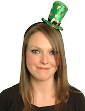 Mini Leprechaun Top Hat Headband Hat Bopper St Patricks Day Fancy Dress 00133