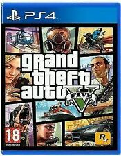 Brand New Sealed GTA V GRAND THEFT AUTO V 5 PS4 PLAYSTATION 4 GAME