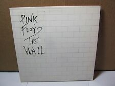 Pink Floyd The Wall Record Rare w/ Clear Sticker on Cover Early Pressing   T*
