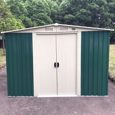 10x8' Outdoor Storage Shed Large Backyard Garden Garage DIY Kit utility tool hut