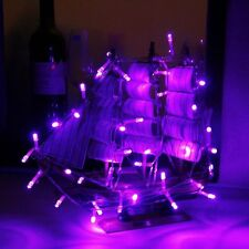 3M 30 Battery operated Purple LED string lights For Homes,Wedding,party Decor